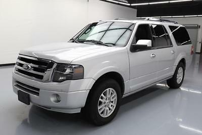 2014 Ford Expedition Limited Sport Utility 4-Door 2014 FORD EXPEDITION EL LIMITED 8-PASS SUNROOF NAV 71K #F46142 Texas Direct Auto