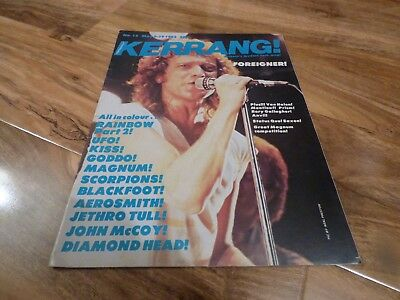 Kerrang! - 6/5/82, Foreigner / Magnum / Rory Gallagher / Rainbow / Scorpions