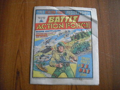 BATTLE ACTION FORCE COMIC - MAY 18th 1985
