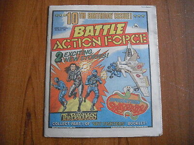 BATTLE ACTION FORCE COMIC - MARCH 9th 1985