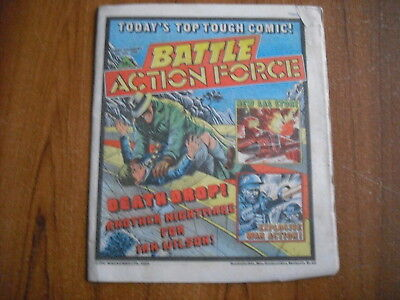 BATTLE ACTION FORCE COMIC - JULY 6th 1985