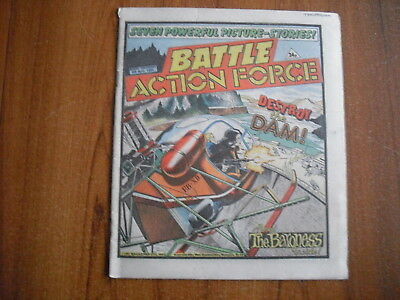 BATTLE ACTION FORCE COMIC - APRIL 6th 1985