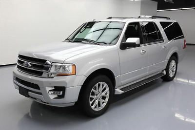 2017 Ford Expedition EL Limited Sport Utility 4-Door 2017 FORD EXPEDITION EL LIMITED ECOBOOST SUNROOF 52K MI #A04216 Texas Direct