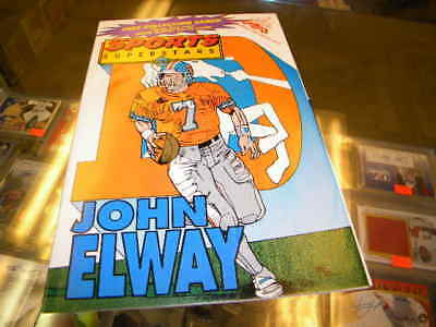 John Elway Denver Broncos Sports Superstars Comic Book