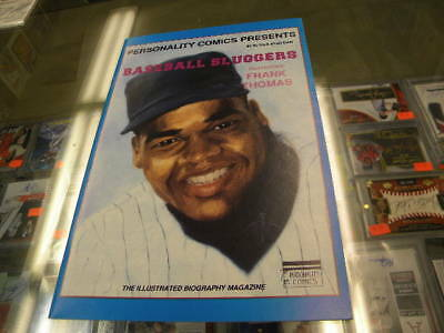 Frank Thomas Chicago White Sox Personality Comic Book