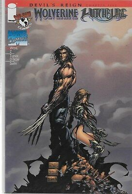 Wolverine / Witchblade No.1 American Entertainment Gold Edition with Certificate