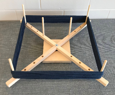 Medium Yarn Swift, Skeinwinder with ball bearing base! Handcrafted in the USA!