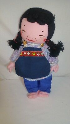 MICHAEL LEE DOLLS GIRL 1986 signed on her foot super Hong Kong autographed