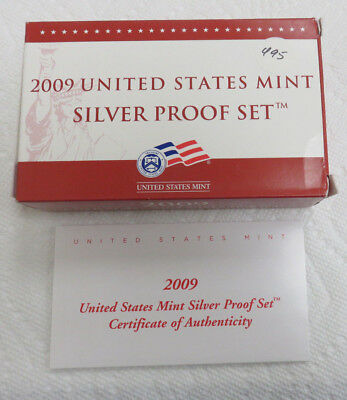 2009 Proof Silver Set in mint packaging