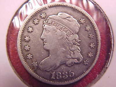 1835 Capped Bust Half Dime - Vf - See Pics! - (X2274)