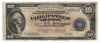 Philippines ND (1944) $10 Victory Series Very Fine