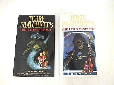 TERRY PRATCHETT'S THE LIGHT FANTASTIC & THE COLOUR OF MAGIC Books - S86