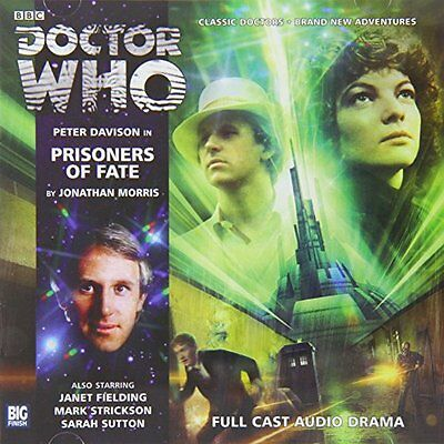 Prisoners of Fate (Doctor Who) New Audio CD Book Jonathan Morris