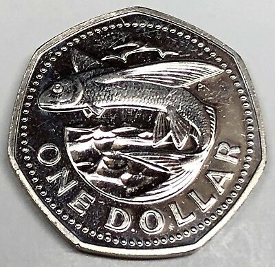 C5119    BARBADOS   COIN,      ONE DOLLAR   1984  Proof