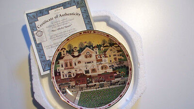 Charles Wysocki's Days to Remember Plate May Derby Square