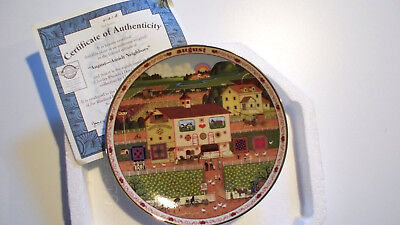 Charles Wysocki's Days to Remember Plate August Amish Neighbors