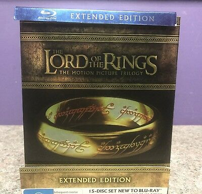 The Lord Of The Rings The Motion Picture Trilogy Blu-Ray Box Set