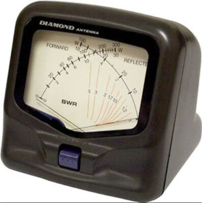Diamond SX20C SWR Power Meter 3.5-30, 50-54, and 130-150 MHz 300 Watts