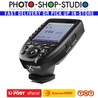 AU*Godox XPRO-N TTL Wireless Flash Transmitter for Nikon 1/8000  2.4G