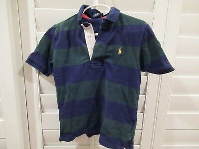 Ralph Lauren Polo Rugby Shirt Boys Size 5 Ships Free