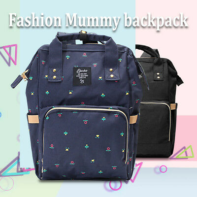 2018 Mummy Maternity Nappy Diaper Bag Large Capacity Baby Bag Travel Backpack