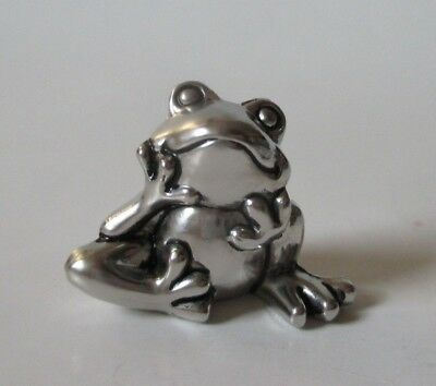 P I'm so lucky FROG mini Pocket FIGURINE CHARM count your blessings Ganz happy