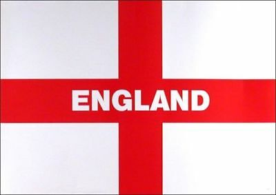 LARGE ENGLAND FLAG 5FT X 3FT ST GEORGE CROSS ENGLISH 5 x 3 FOOTBALL WORLD CUP