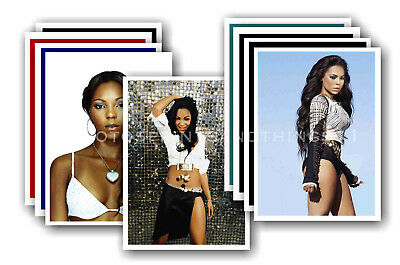ASHANTI - 10 promotional posters  collectable postcard set # 2