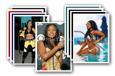 ASHANTI - 10 promotional posters  collectable postcard set # 3