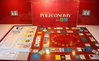 POLECONOMY Board Game ~ by John Sands ~ Complete