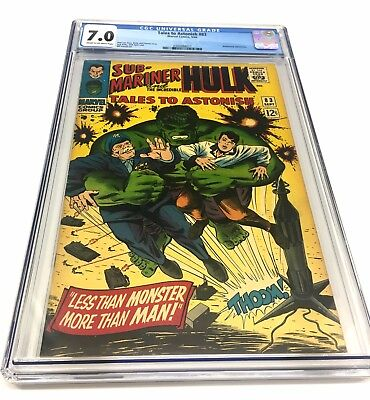 **tales To Astonish 83 Sub Mariner Incredible Hulk Cgc 7.0**jack Kirby