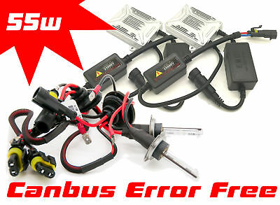 55W H7 Canbus Xenon Hid Gas Discharge Kit Set For Vauxhall Movano Mk3 3/2010