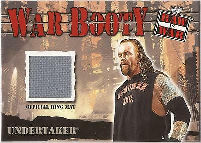 "WWF Raw is War - War Booty ""Undertaker"" Event Used Card"