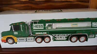 HESS TRUCK 50TH ANNIVERSARY  2014   NEW  IN   BOX..NEVER  removed from box...