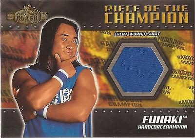 "WWF Championship Clash - PC-FN ""Funaki"" Piece of the Champion Card"