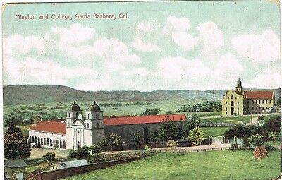 CPA coul. Mission and College, Santa Barbara, Cal.