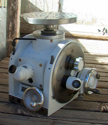 "Vintage George Scherr Ernst Leitz 10"" Optical Dividing Head German"