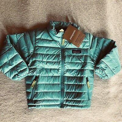 Patagonia Baby Down Sweater Jacketnwtstrait Bluenwt3t 9800