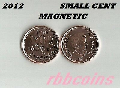 2012 Magnetic Uncirculated Canada Small Cent - I Have More Canada Coins