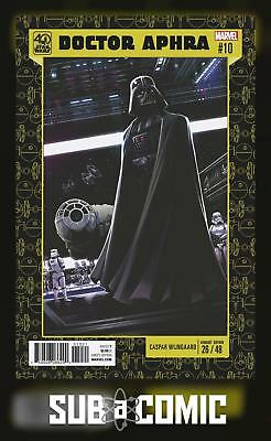Star Wars Doctor Aphra #10 40Th Anniversary Variant (Marvel 2017) Comic