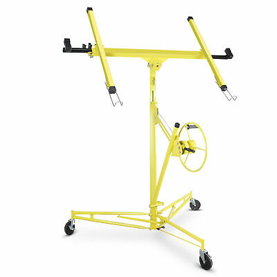 Dry Wall Panel Hoist Lockable Lifter Panel Lift Yellow