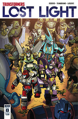 TRANSFORMERS LOST LIGHT #8 COVER A LAWRENCE (IDW 2017 1st Print) COMIC
