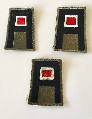 U.S. Army First Army (Engineers) Shoulder Patches