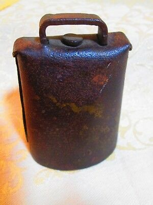 Vtg Farm Metal Cow Bell Blacksmith Hand Foraged Heavy Steel Drums *More Cowbells