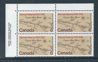 Canada #540ii UL Long Line Beside The South Pole Variety MNH **Free Shipping**