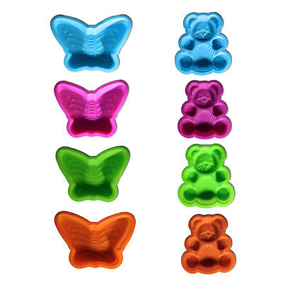 Silicone Cake Mould Jelly Mould Children's Teddy & Butterfly for kids Baking