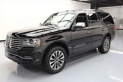 2017 Lincoln Navigator Select Sport Utility 4-Door 2017 LINCOLN NAVIGATOR SUNROOF NAV CLIMATE LEATHER 23K #L07143 Texas Direct Auto