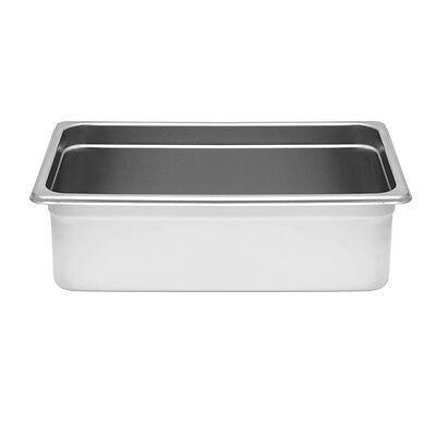 "1 Stainless Steel Anti-Jam Steam Table Food Pan Full Size 6"" Deep NSF STPA8006"