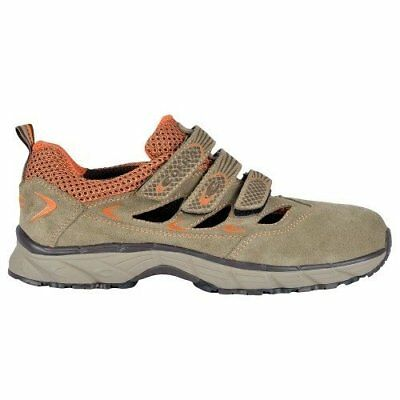 """Cofra JV014-000.W47 Size 47 S1 P SRC """"New Big Air"""" Safety Shoes - Grey"""