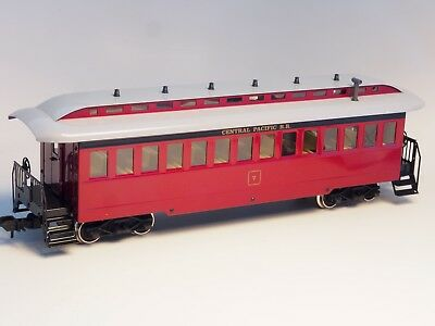 5473 Marklin Scale 1 Old Era Central Pacific Passenger Car in METAL  Outdoor use